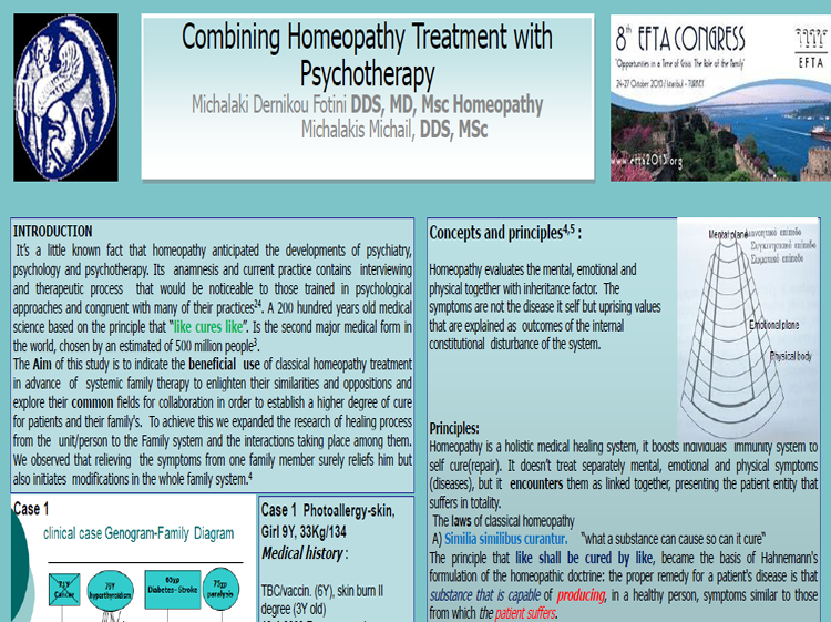 Combining Homeopathy Treatment with Psychotherapy